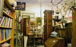 Ile de France,  shop of a bric a brac trader Royalty Free Stock Photos