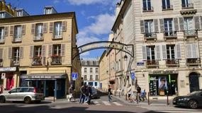 Ile de France, the Versailles city Stock Photo