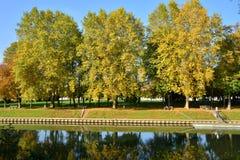 Ile de France, ville pittoresque d'en Yvelines de Meulan photographie stock libre de droits