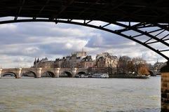 Ile de la Cité in Paris Stock Images