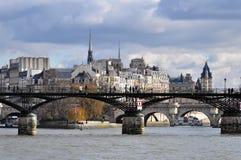 Ile de la Cité in Paris Royalty Free Stock Image
