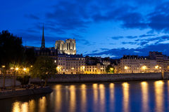 Ile de la Cite Stock Photography