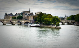 Ile de la Cite Royalty Free Stock Photo