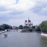 Ile de la Cite. Parigi. La Francia Immagine Stock