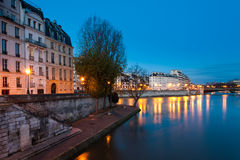 Ile de la cite, Paris, France Royalty Free Stock Photography