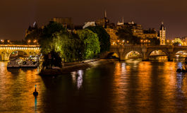 Ile de La Cite Paris France Stock Image