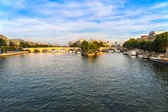 The Ile de la Cite Paris France Royalty Free Stock Photo