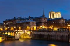 Ile de la cite, Paris Royalty Free Stock Photography