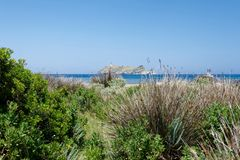 Ile de la Giraglia 04 stock photography