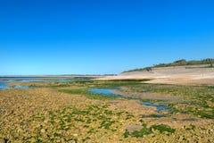 Ile de Ré - North coast. Near the lighthouse royalty free stock photos