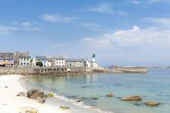ile DE sein in Bretagne Frankrijk Royalty-vrije Stock Foto's