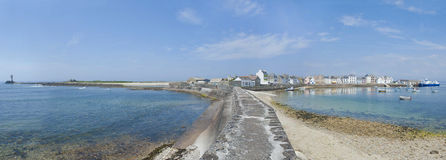 ile de sein in brittany france Royalty Free Stock Photo