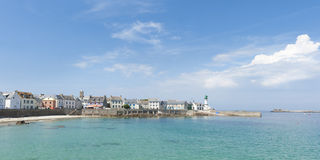 ile de sein in brittany france Stock Photography