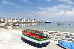 ile de sein in brittany france Stock Photo