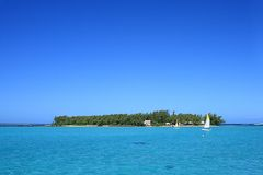 Ile des Deux Cocos, Mauritius Royalty Free Stock Photos