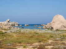 Ile Lavezzi view Royalty Free Stock Photos