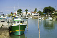 Ile oleron en france Royalty Free Stock Photography