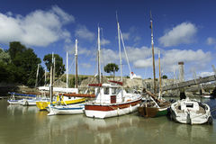 Ile oleron en france Royalty Free Stock Images