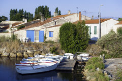 Ile oleron en france Royalty Free Stock Photos