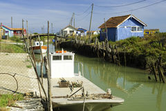 Ile oleron en france Royalty Free Stock Photo