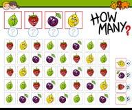 Ile owoc aktywność Zdjęcie Royalty Free