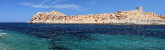 Ile Rousse, Corse Photographie stock libre de droits