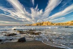 Ile Rousse Lighthouse in Korsika Lizenzfreies Stockbild