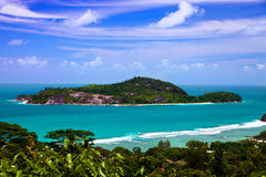 ile seychelles therese Arkivbilder