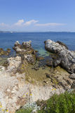 Ile Ste-Marguerite. Near Cannes in the south of France, Europe Stock Images