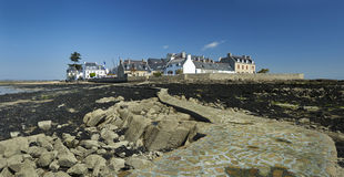 Ile tudy in brittany Stock Photo