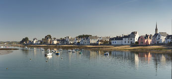 Ile tudy in brittany. France Stock Photos