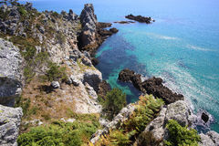 Ile Vierge, Crozon Peninsula Stock Photo