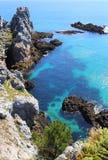 Ile Vierge, penisola di Crozon Immagine Stock