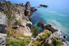 Ile Vierge, péninsule de Crozon Photo stock