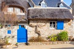 Ile-Zusatz-Moines, Morbihan-Golf lizenzfreie stockfotografie