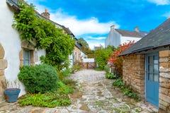 Ile-Zusatz-Moines, Morbihan-Golf lizenzfreies stockbild