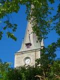 Ilen教会在特隆赫姆,挪威 免版税库存图片