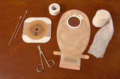 Ileostomy supplies Stock Photos