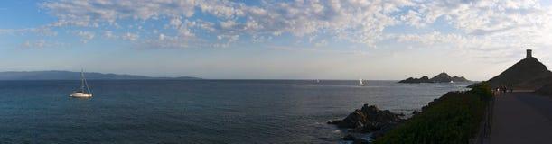 Iles Sanguinaires,阿雅克修,可西嘉岛, Corse,法国,欧洲,海岛海湾  库存图片