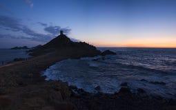 Iles Sanguinaires, Κόλπος του Ajaccio, Κορσική, Κορσική, Γαλλία, Ευρώπη, νησί Στοκ Εικόνες