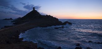 Iles Sanguinaires, Κόλπος του Ajaccio, Κορσική, Κορσική, Γαλλία, Ευρώπη, νησί Στοκ Φωτογραφίες