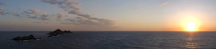 Iles Sanguinaires, Κόλπος του Ajaccio, Κορσική, Κορσική, Γαλλία, Ευρώπη, νησί Στοκ φωτογραφίες με δικαίωμα ελεύθερης χρήσης