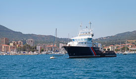 Iles Sanguinaires II, general cargo vessel Stock Photo