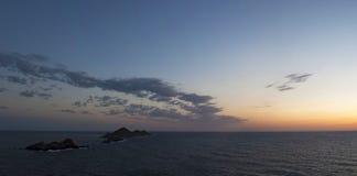 Iles Sanguinaires, zatoka Ajaccio, Corsica, Corse, Francja, Europa, wyspa Obraz Royalty Free