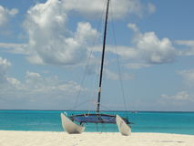 Iles Turquoise plage voilier destination soleil soleil Royalty Free Stock Images