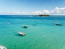Ilet du Gosier - ilha de Gosier - Le Gosier - Guadalupe - Caraíbas - FWI - Antilhas Francaises fotografia de stock