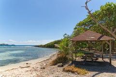Ilet du Gosier - isola di Gosier - Le Gosier - l'isola dei Caraibi della Guadalupa Fotografia Stock