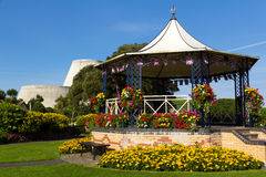 Ilfracombe. Runnymede Gardens and Landmark Theatre Ilfracombe North Devon England UK Stock Image