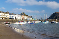 Ilfracombe Devon England. Ilfracombe Harbour Devon England UK Royalty Free Stock Photos