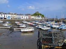 Ilfracombe hamn i norr Devon England Royaltyfri Bild